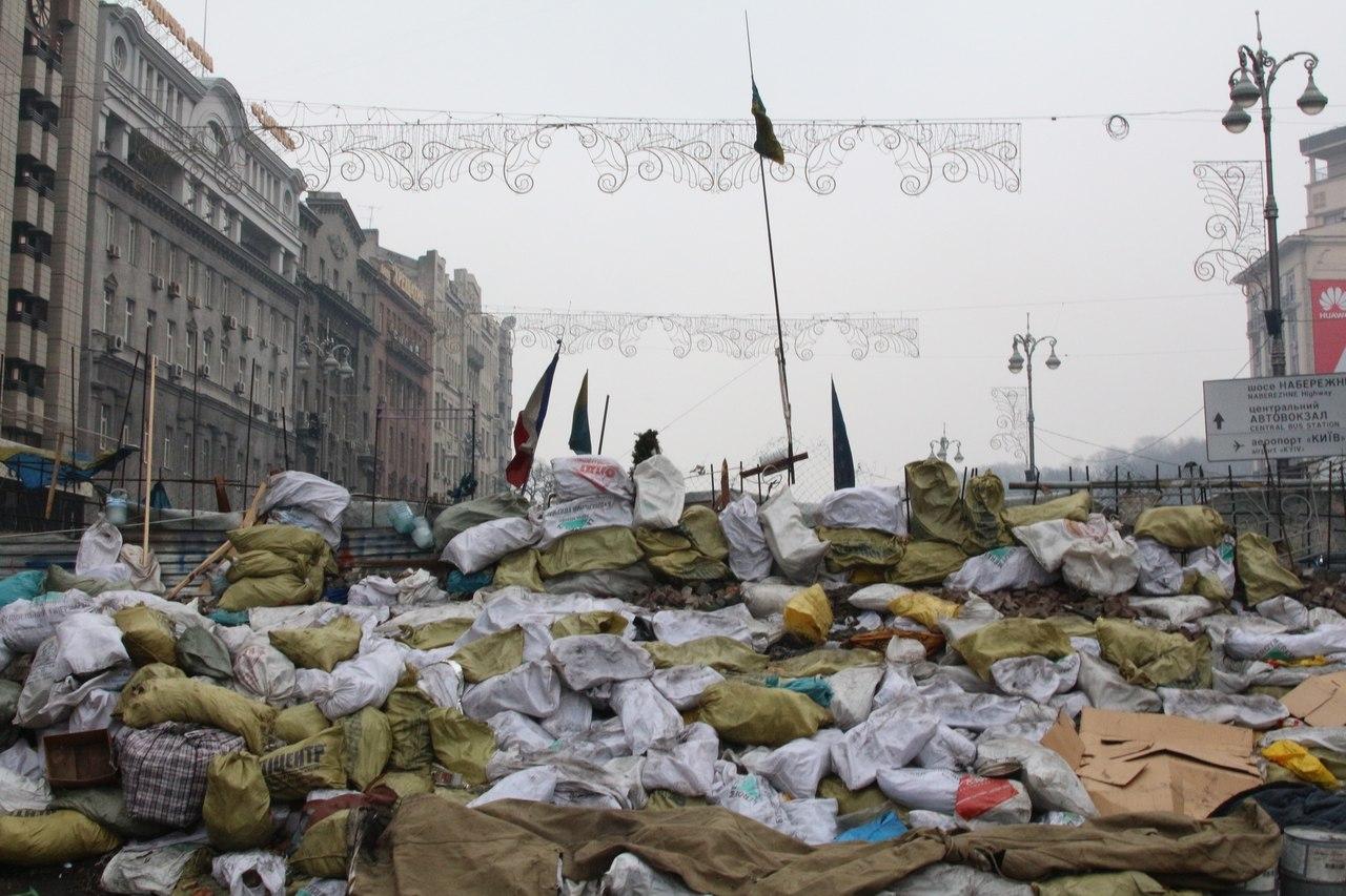 Киев фото до и после