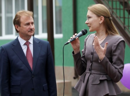 Олександр Попов і Алла Шлапак.