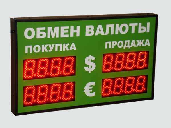 Обмен и курсы валют в банках СПБ - Санкт Петербург