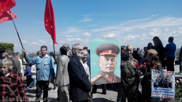 Милиция урегулировала конфликт возникший из-за портрета Сталина