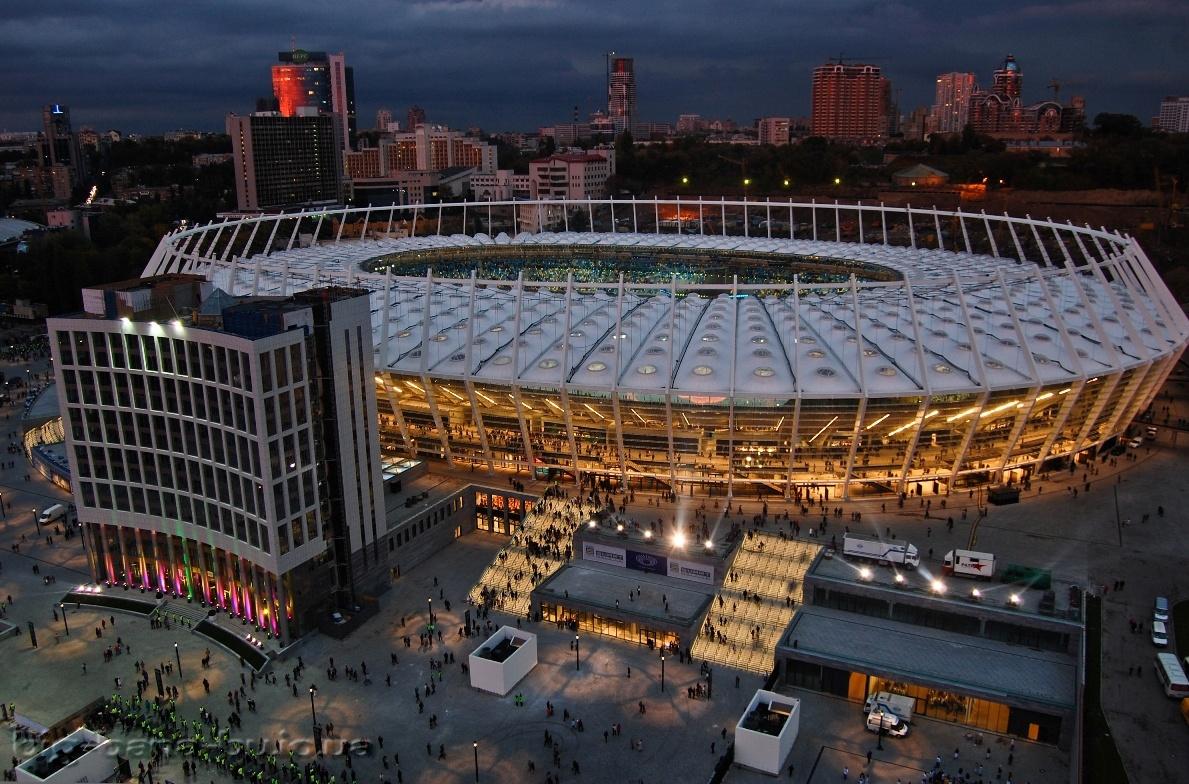 стадион олимпийский в киеве схема