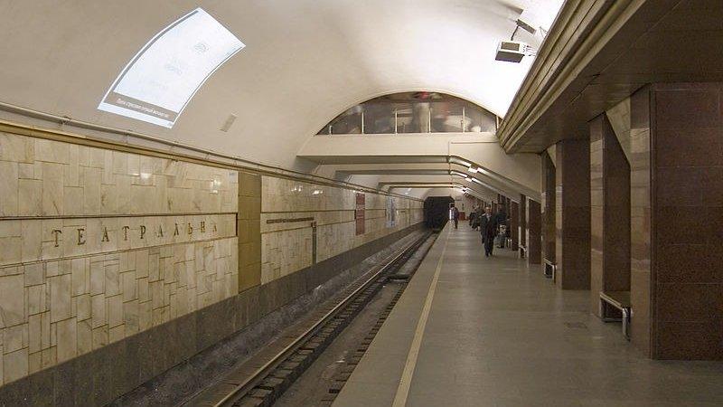 Настанции метро «Театральная» вКиеве починят эскалатор