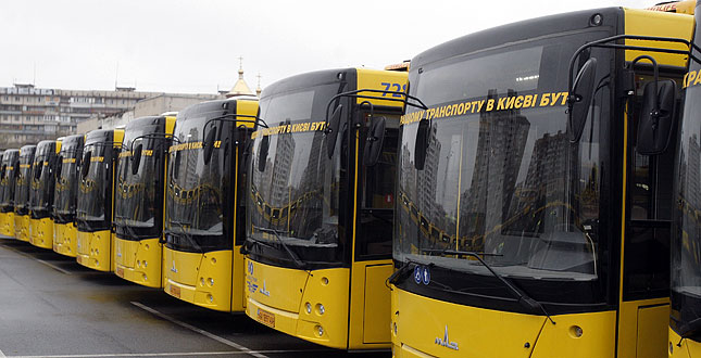 ВКиеве новые автобусные маршруты