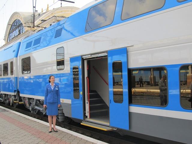 Рейсы дополнительного поезда «Одесса— Харьков» назначены наближайшие дни