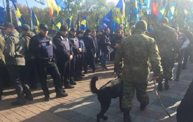 ВКиеве праздничные мероприятия 14октября прошли без грубых правонарушений— МВД