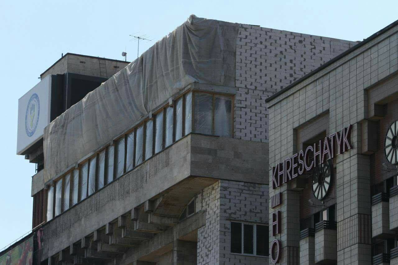 Завтра вКиеве начнут демонтировать надстройку наДоме Профсоюзов