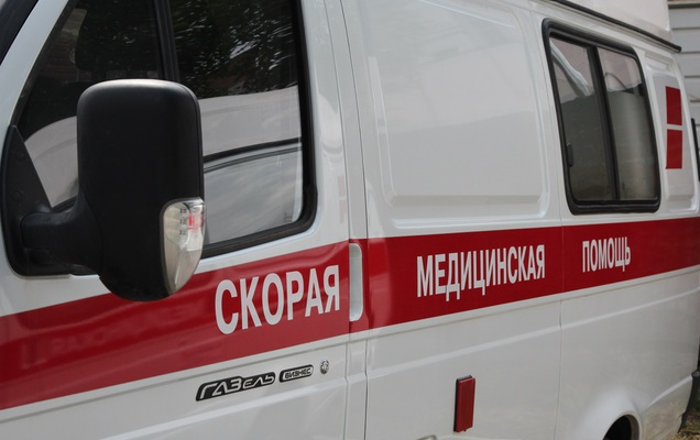 НаКиевщине грузовой автомобиль врезался вавтобус— шофёр последнего умер