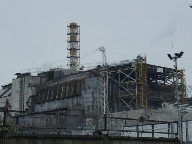 НаЧАЭС завершено строительство арки конфайнмента