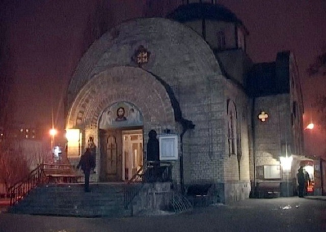 ВКиеве подростки напали напослушницу храма
