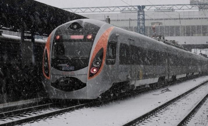 Новый поезд Киев-Ужгород будет курсировать с11декабря