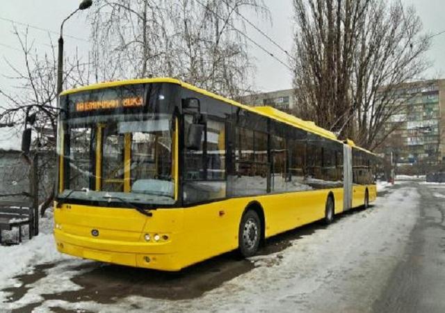 С20декабря вКиеве поменяются маршруты четырех троллейбусов