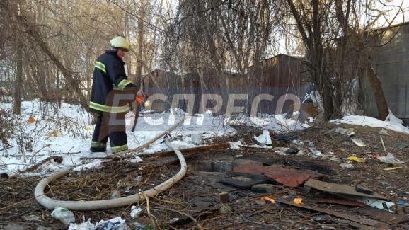 Впроцессе тушения пожара вкиевском коллекторе найдено мужское тело