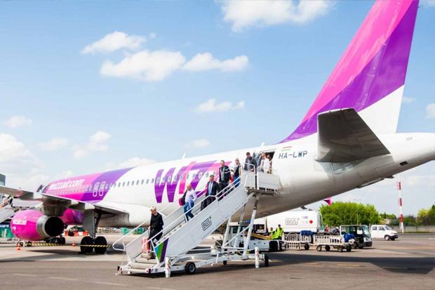 Сапреля нынешнего 2017г Wizz Air запустит рейсы изЛьвова воВроцлав