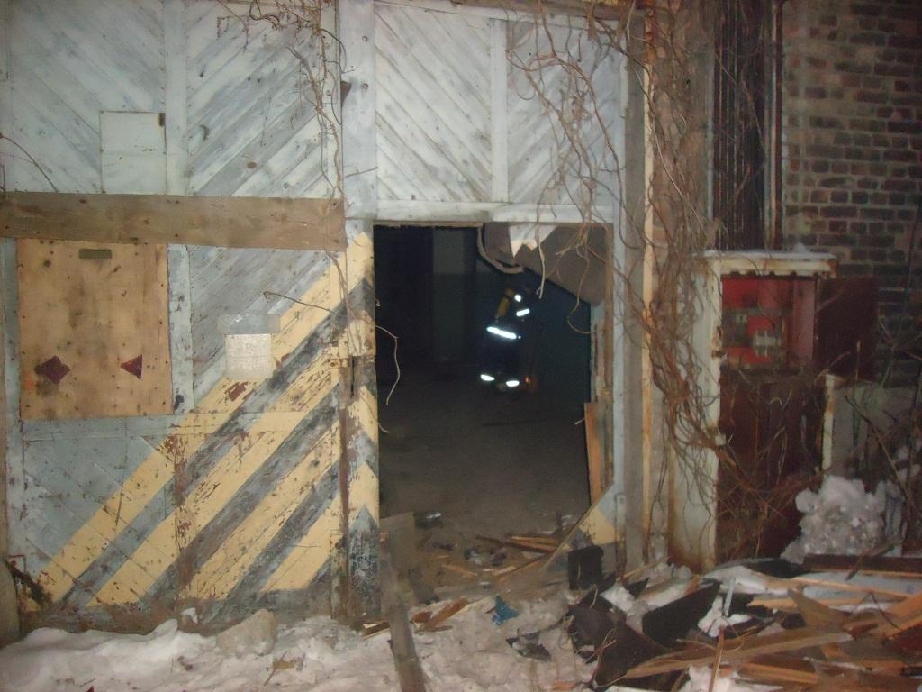 ВКиеве горело заброшенное строение завода