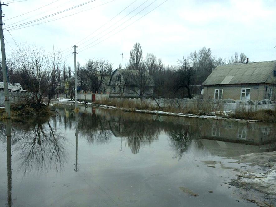 Шесть районов столицы Украины могут страдать отподтоплений