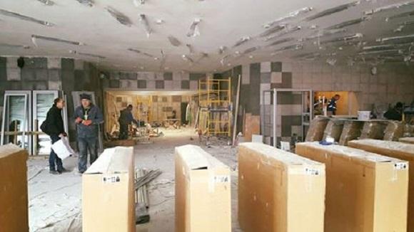 Улучшенный вестибюль на«Левобережной» вКиеве откроют вчетверг