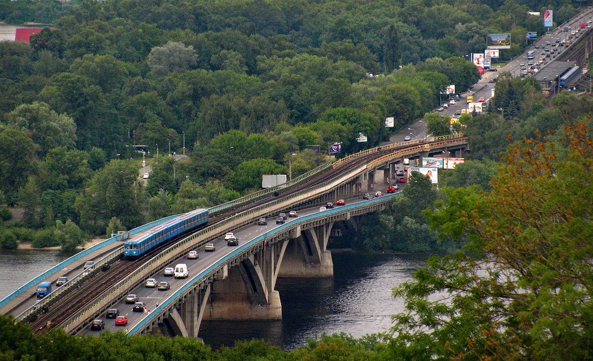 Сегодня вКиеве наЮжном мосту ограничат движение транспорта