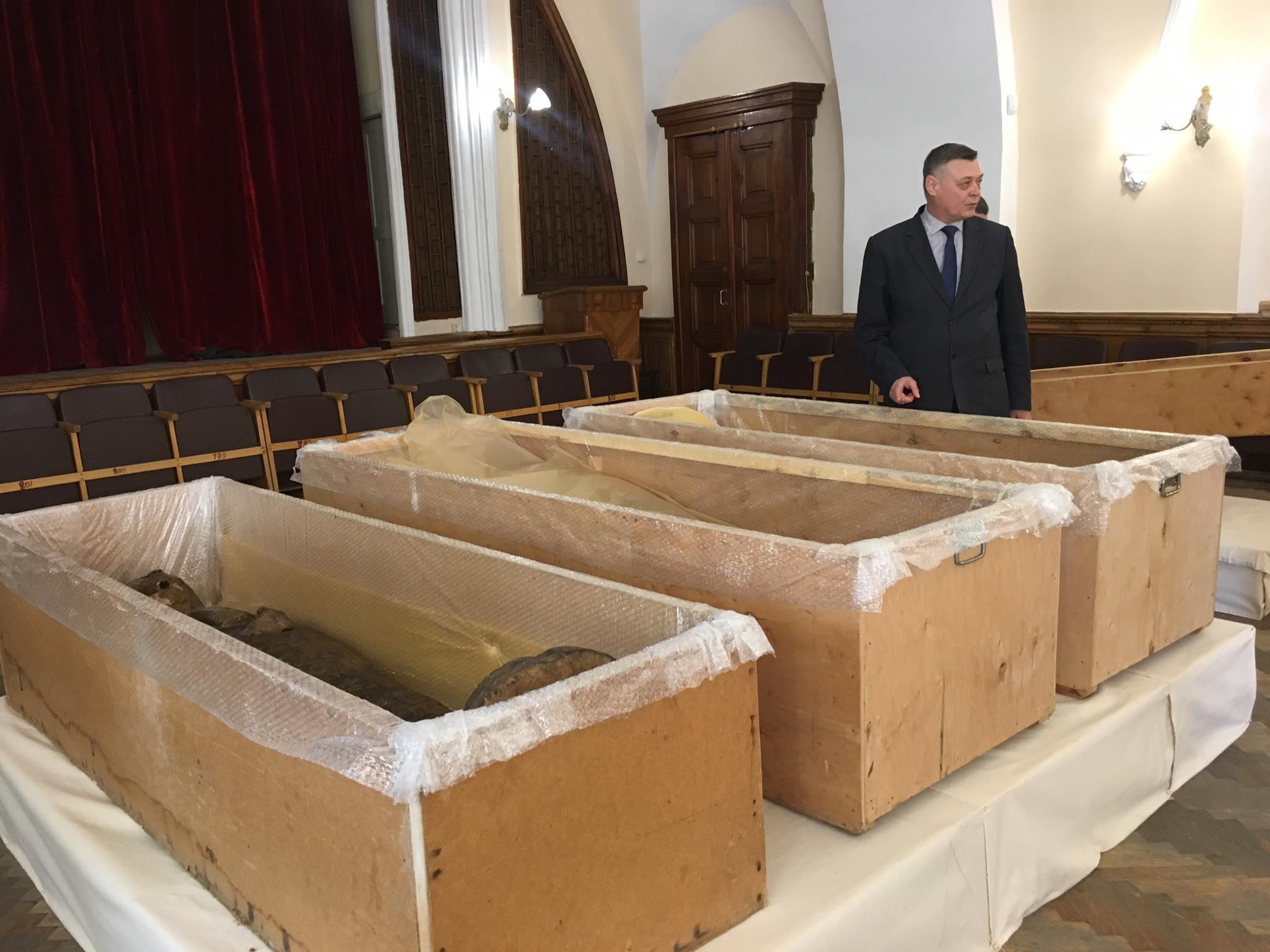Древнеегипетская мумия отыскалась вКиево-Печерской лавре
