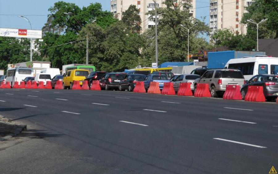 ВКиеве с16мая ограничат движение транспорта уметро «Нивки»