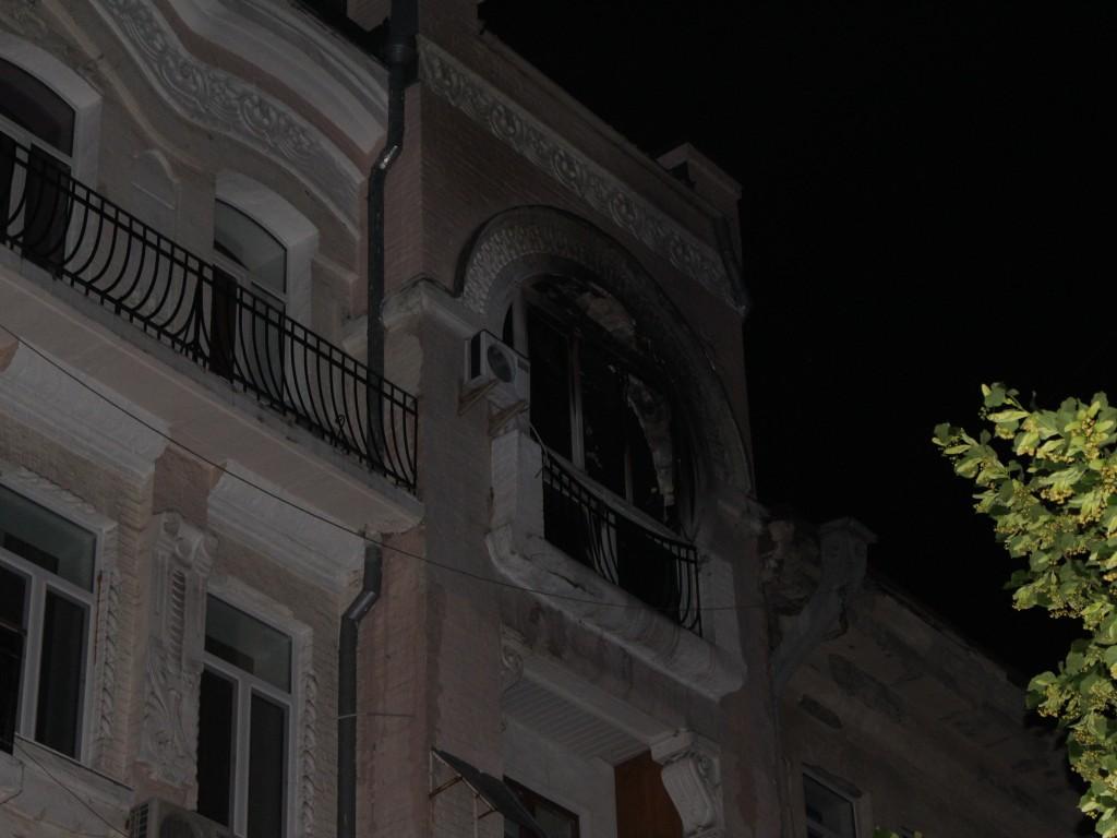 Пожар вцентре украинской столицы: умер человек, еще 5 - эвакуированы