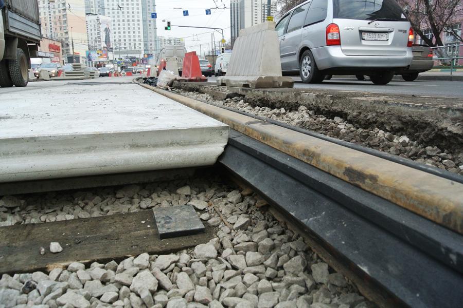 Тынеуедешь: вКиеве доосени закрывают два трамвайных маршрута