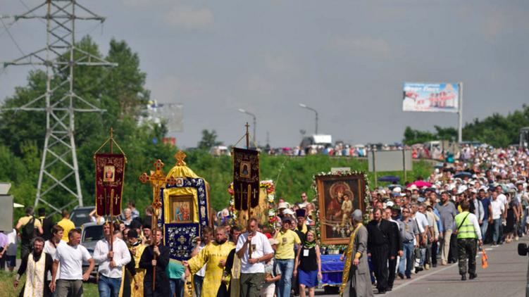 День крещения Руси вКиеве отметят многотысячным крестным ходом счудотворными иконами
