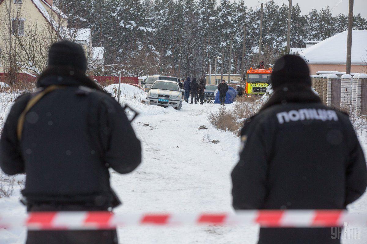 Стрельба вКняжичах: Генеральная прокуратура проинформировала о сомнении трем служащим Нацполиции