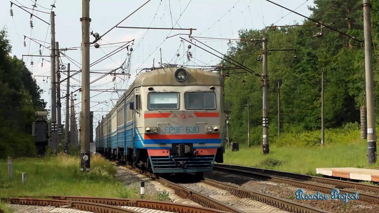 НаЗакарпатье находу зажегся пригородный поезд