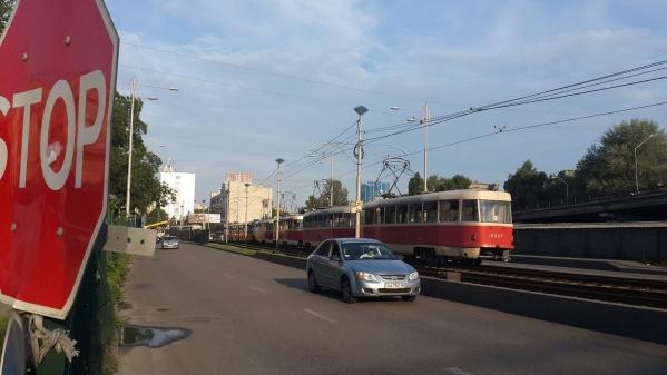 В Киеве восстановили движение трамвая № 16