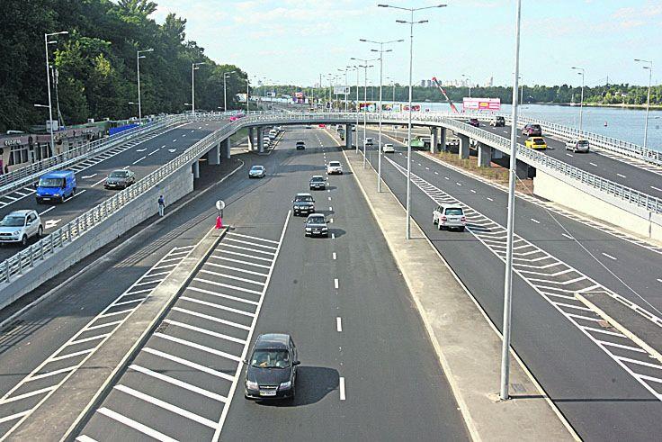 ВКиеве на некоторое количество дней ограничат движение наСтоличном шоссе