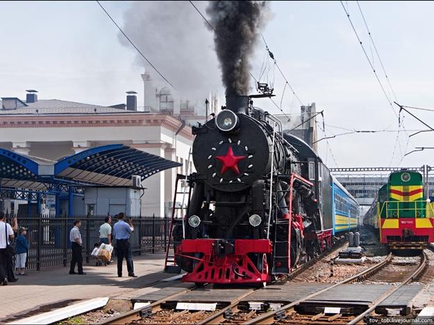 ВДень защитника Украины будет курсировать ретропоезд