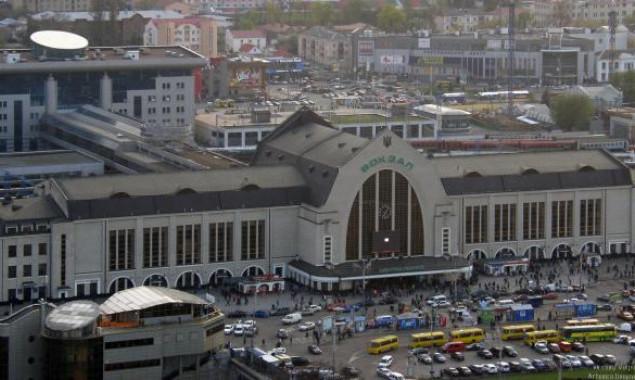 фото ж д вокзал киев