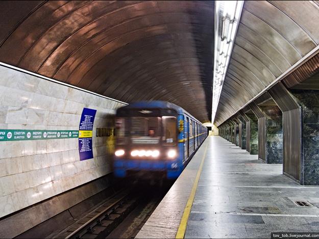 Станция метро «Палац спорту» закрыта навход ивыход