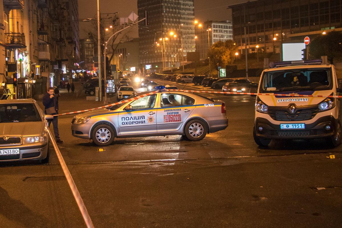 Стрельба вцентре Киева: полиция задержала нападавшего