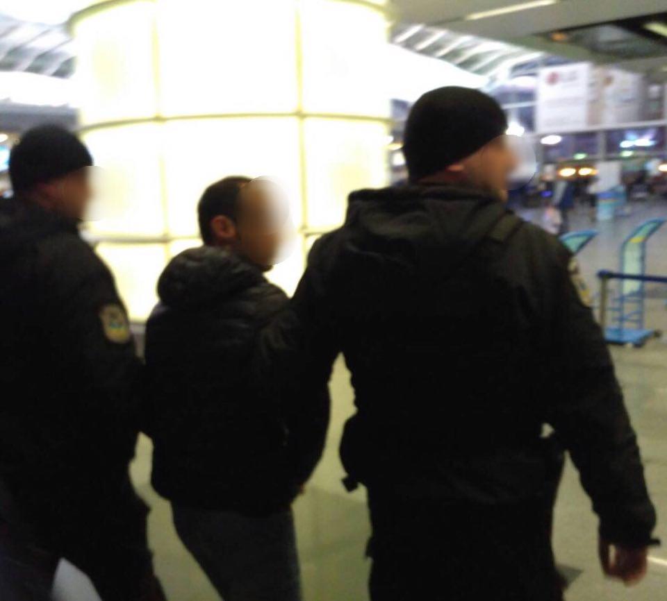 ВБорисполе задержали азербайджанца, который переправлял украинок заграницу для половой эксплуатации