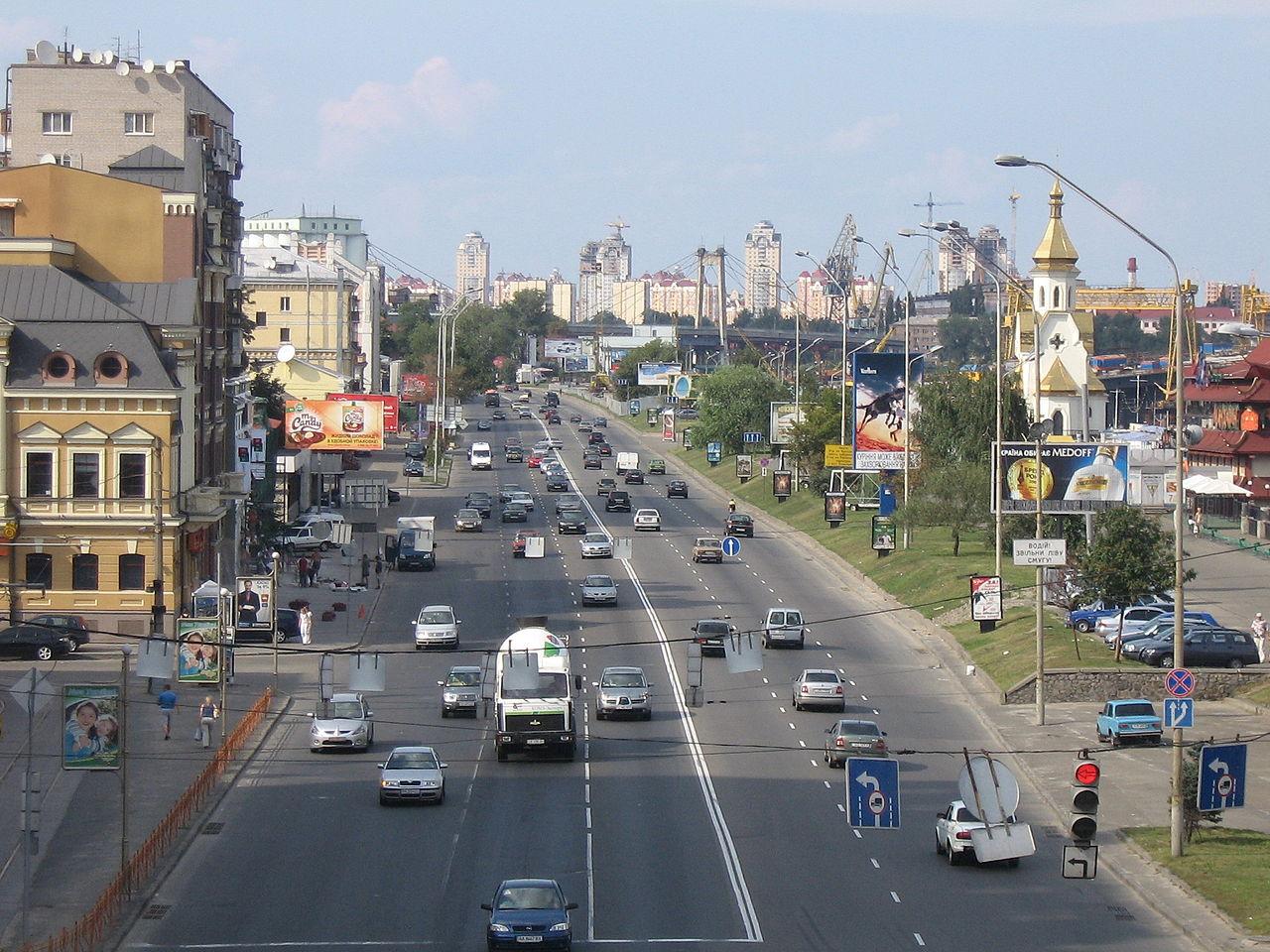 Киевлян предупредили обограничении движения в 2-х направлениях