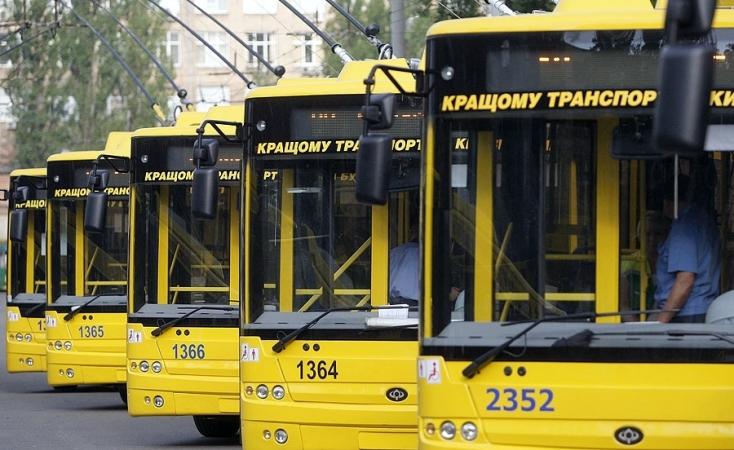 Завтра вцентре украинской столицы поменяются маршруты движения троллейбусов
