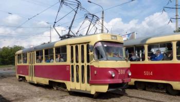 Киевский трамвай №8 меняет схему движения (схемы)
