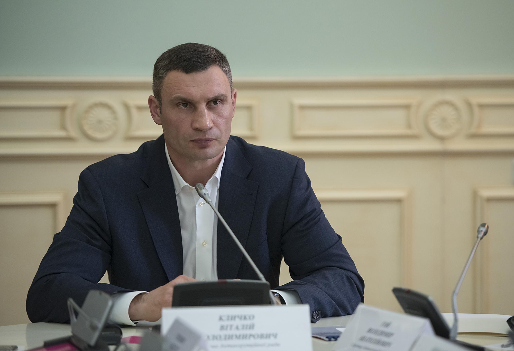 Кличко сократил своего первого заместителя Плиса