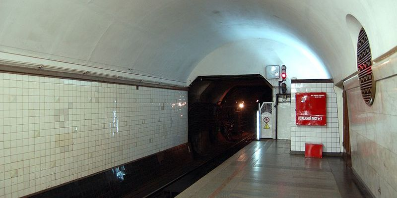 Милиция задержала четверых мужчин втоннеле метрополитена