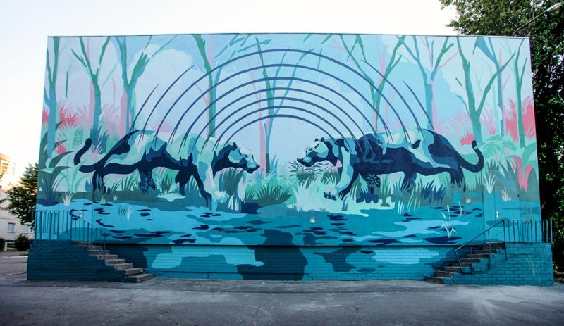 Украинские муралы вошли всписок Best Street Art 2017