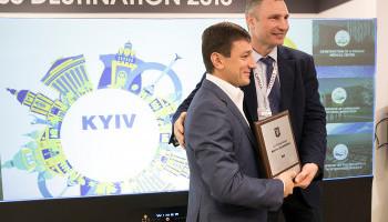 Кличко представил столицу Украины на международной выставке недвижимости MIPIM в Каннах