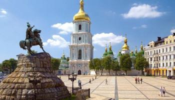 Завтра Софийская площадь и Владимирский проезд в Киеве будут закрыты для транспорта