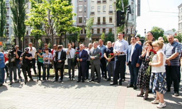 В Киеве появился мемориал герою Чернобыля