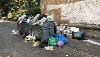 Депутат Киевсовета Алла Шлапак в очередной раз просит районные власти организовать вывоз мусора на Печерске