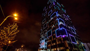 ЖК Tetris Hall признан лучшим мировым проектом на Media Architecture Biennale, - KAN