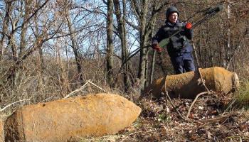 На Белоцерковщине обнаружены три авиабомбы времен Второй мировой войны (фото, видео)