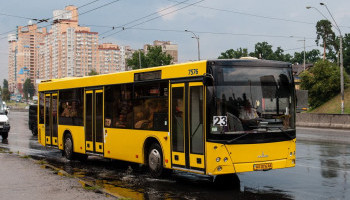 С завтрашнего дня в Киеве будет изменена работа двух автобусов (схема)