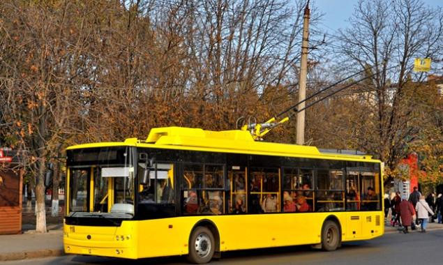 На выходных ярмарки изменят три маршрута общественного транспорта в Киеве