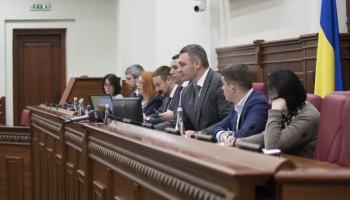 Кличко убедил депутатов проголосовать за разрыв договора со скандальным застройщиком Осокорков